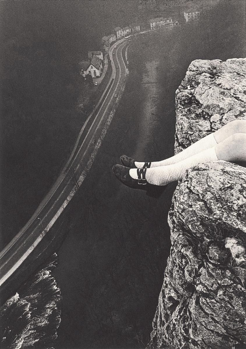 Legs Over High Tor, Matlock Bath (1975)