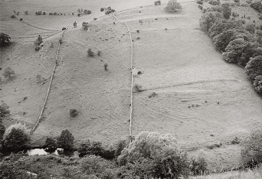 Stone Barn and Wall, Dovedale (1989)